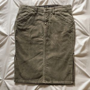 Vintage 2000's Guess Corduroy Skirt